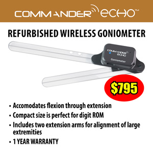 Wireless Goniometer